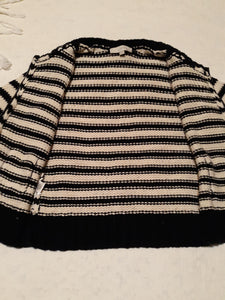 Womens Ann Taylor LOFT Crop Top Sweater Blouse Size Small
