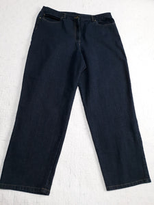 "Womens ""Ruby Rd"" Stretchy Waist Jeans Size 18"