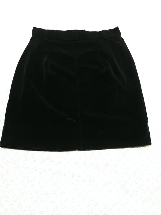 Womens Vintage Velvet Skirt XS/S 27 in. Waist Brand: Happy Legs