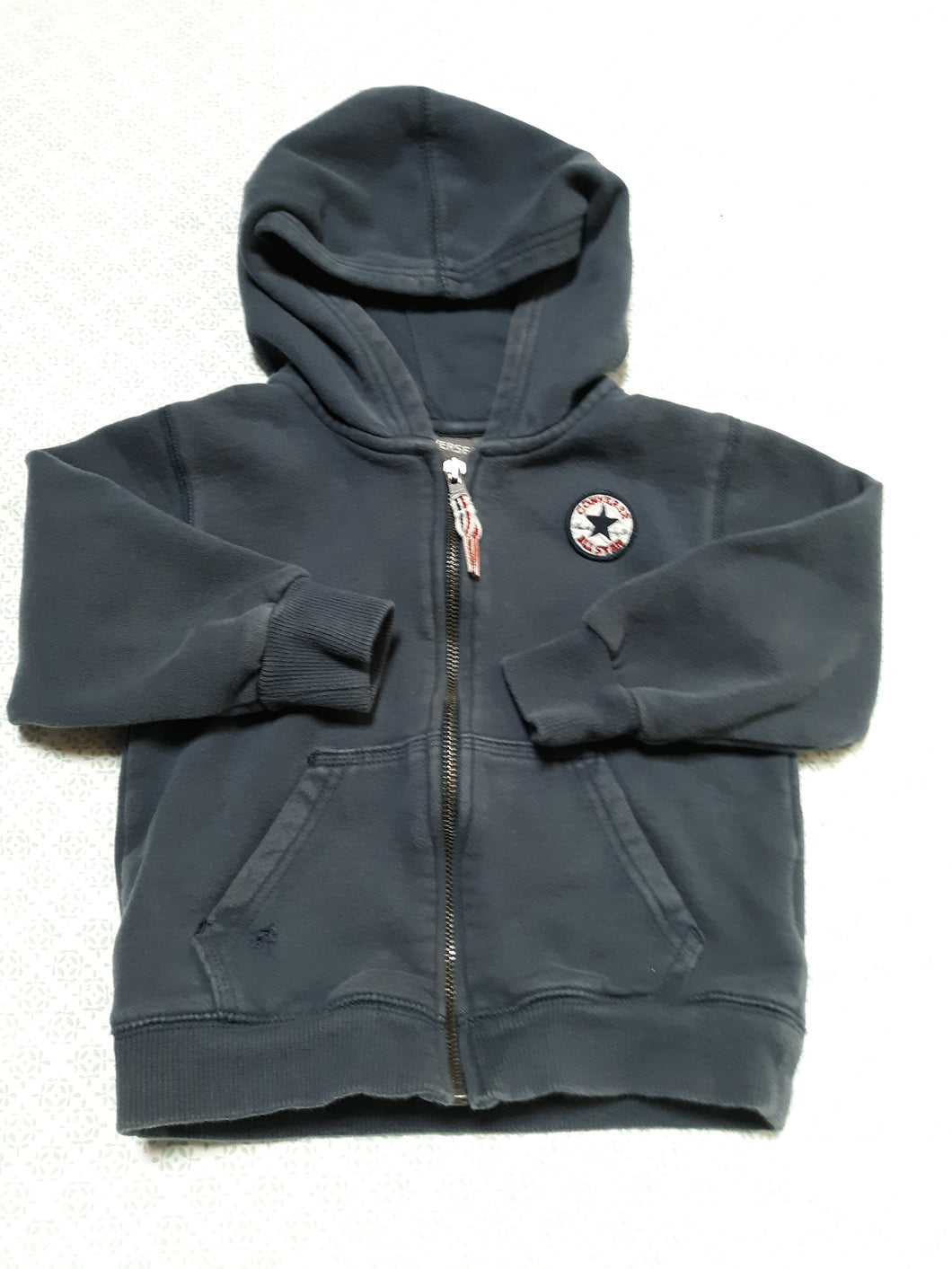 Childrens Boys Hoodie Converse Size 3T Long Sleeve