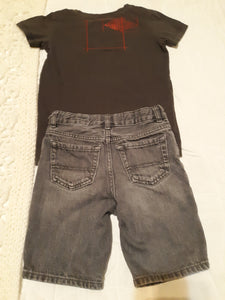 Childrens Boys Size 5 Outfit Childrens Place & Mood Street