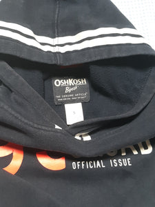 Childrens Boys OSH KOSH Hoodie Size 5 Long Sleeve