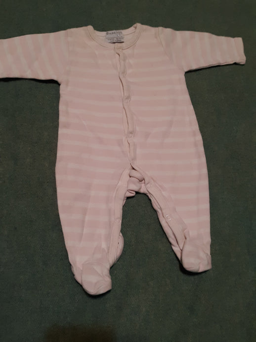 Infant Baby Girls Childrens One Peice Footsie 0-3 M