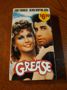 Grease VHS Movie Tape Sealed New Add-on