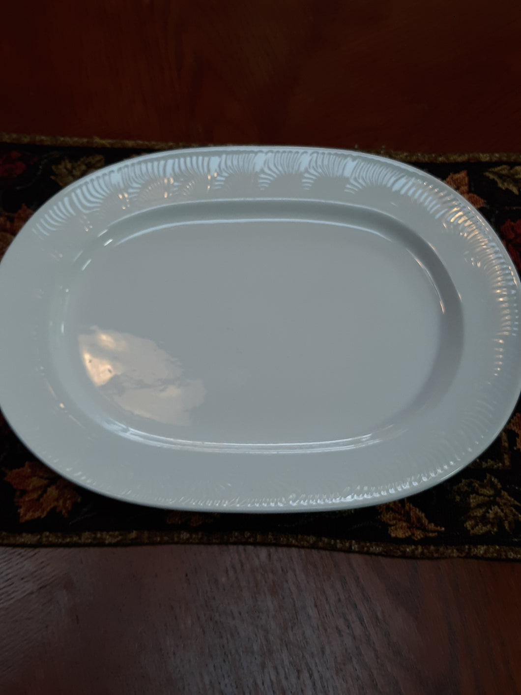 Vintage Glassware Homer Laughlin Serving Platter Plate