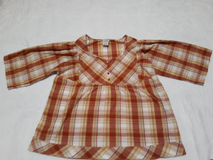 Womens Blouse Size L Large Button Up  Brand: Only Necessities