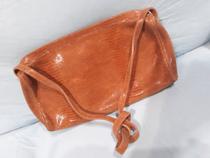 Womens Vintage Handbag Michael Rome Besozzi Genuine Leather Made in Italy