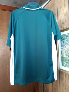 Womens Golf Shirt Blouse Short Sleeve L Large