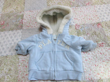 Infant Baby Boy Jacket/ Coat with Hood 3-6 Mo. The Childrens Place Zip Up (Add-on)