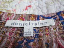 Womens Blouse danielrainn Size M Medium Multi Colored