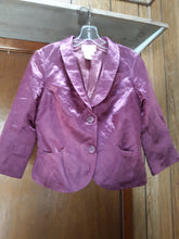 Womens Suit Jacket S Small 8 Beautiful Rasberry Plum Color Shiny Max Studio Suits