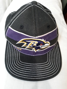 Mens Baltimore Ravens NFL Football Cap Hat Size S/M