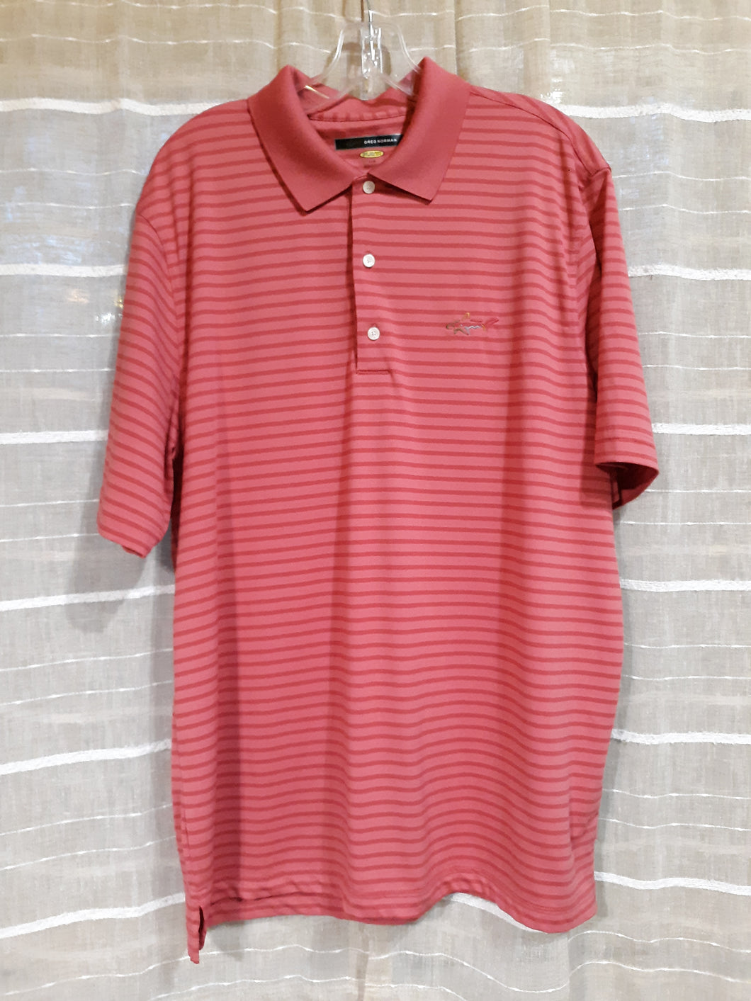 Mens Polo Collared Golf Shirt Size Large