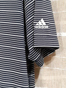 Mens Sport Shirt Adidas Golf L Large Button Up Collared