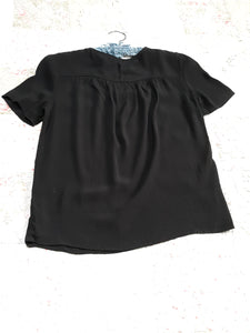 Womens Short Sleeve Career Blouse H&M Size 0 XS NWT