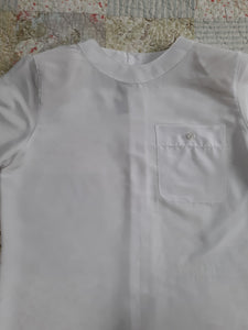 Womens Vintage Worthington Short Sleeve Blouse 6P