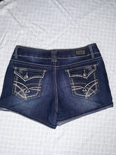 Womens Earl Jean Shorts Size 9 Embroidered Pockets