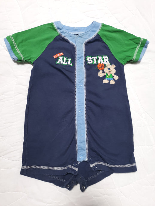 Childrens Baby Boy Romper Short Set Size 24 M