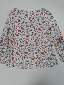 Womens Old Navy Blouse Size S Long Sleeve