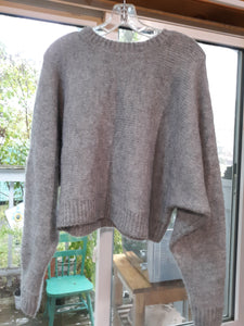 Womens Long Sleeve Sweater Blouse Size S Small