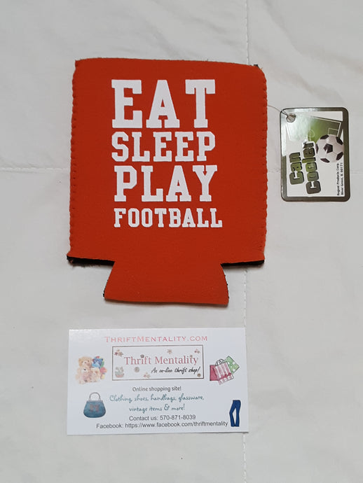 Mens Cozie Can Cooler Football Season NWT Athletic Accessory
