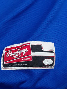 Mens Pull Over Sweater Athletic Rawlings Size L Large