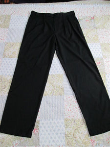Mens Dress Pants Hemmed Design 36 X 34 (Black) Brand: A[X]IST