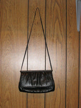 "Vintage ""Mardane"" Purse - Faux black leather handbag - Rare & Gorgeous!!!"