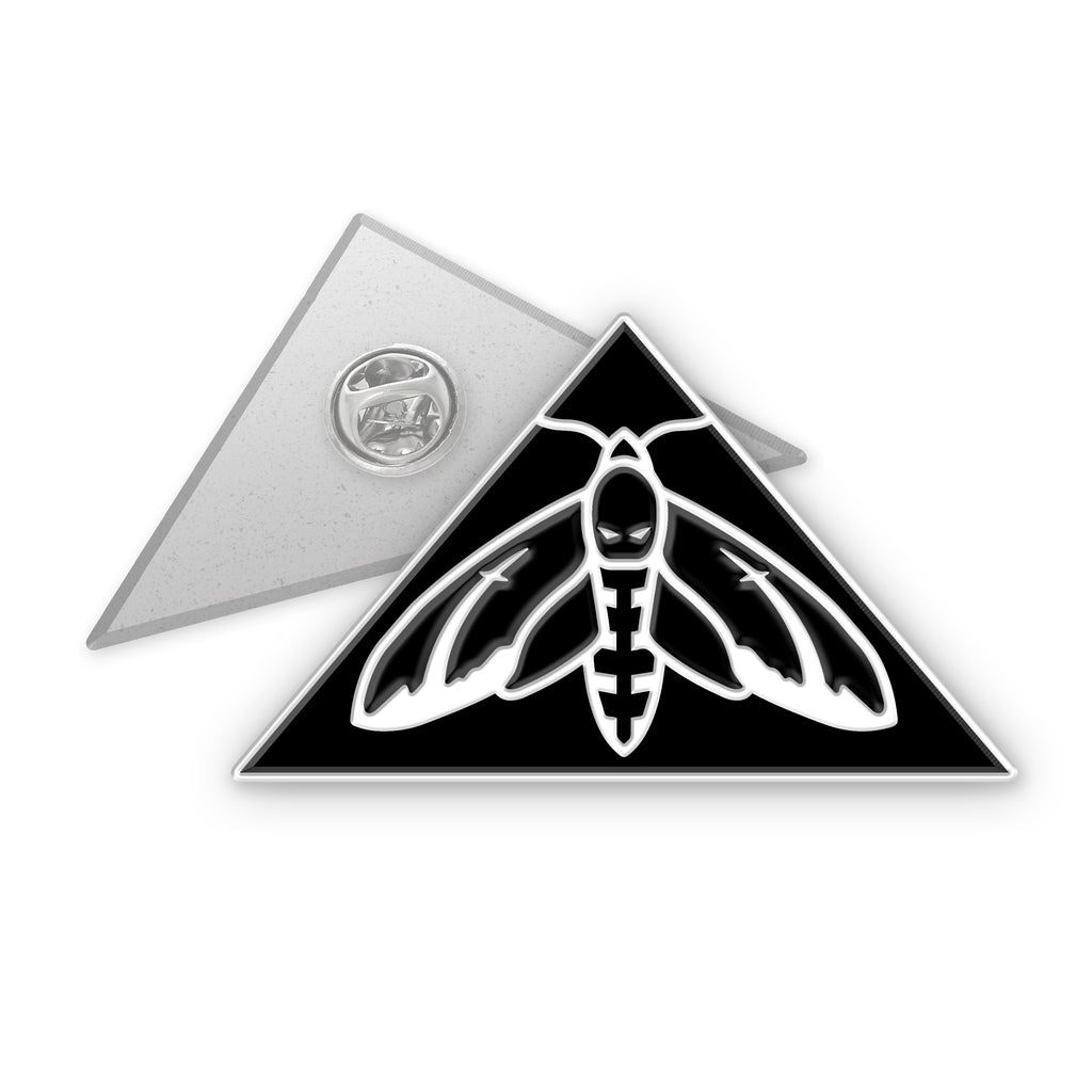 Hawk Moth Logo Pins