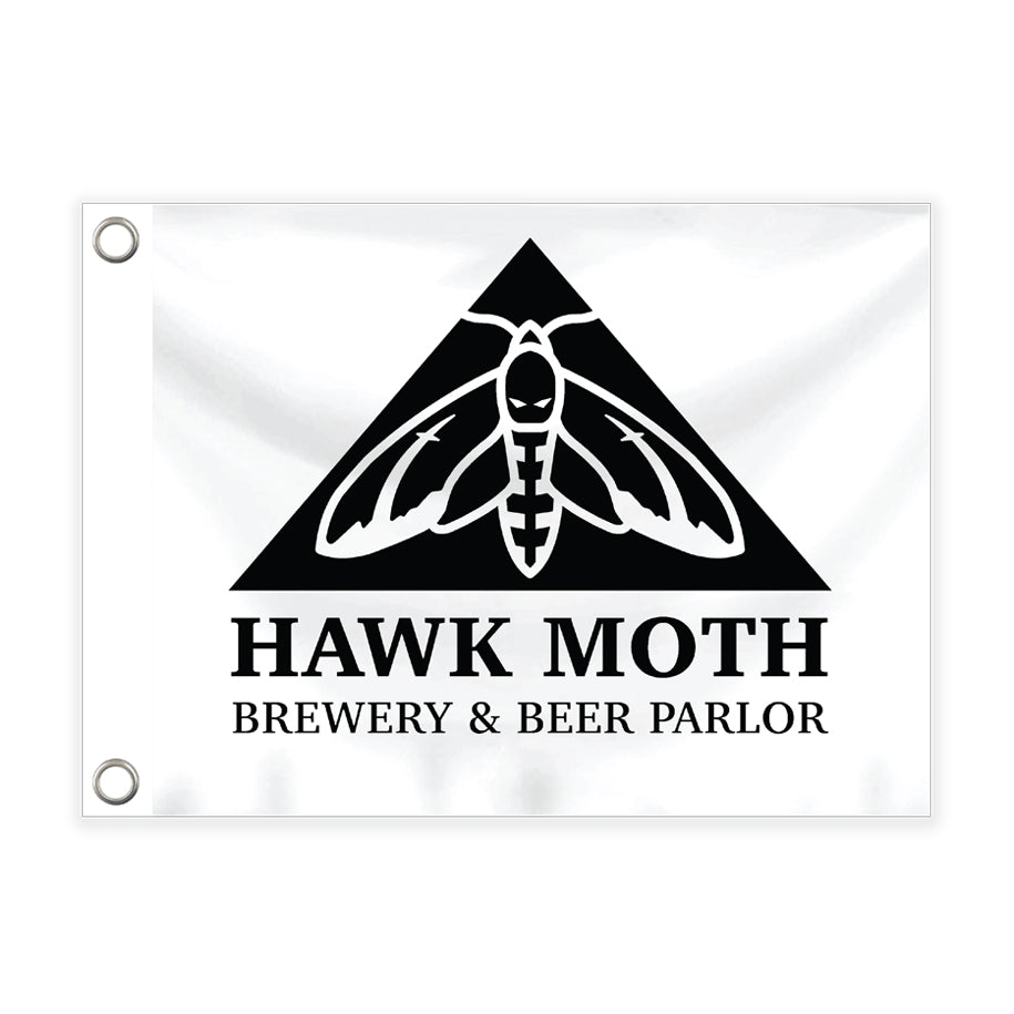 Hawk Moth Flag