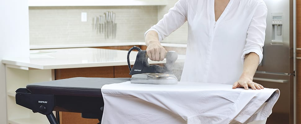 Steam generator irons. The better wrinkle removers.