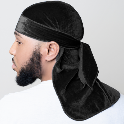 midnight black durag