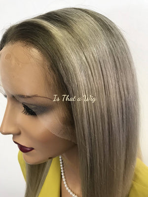 Blond Full Lace Wig