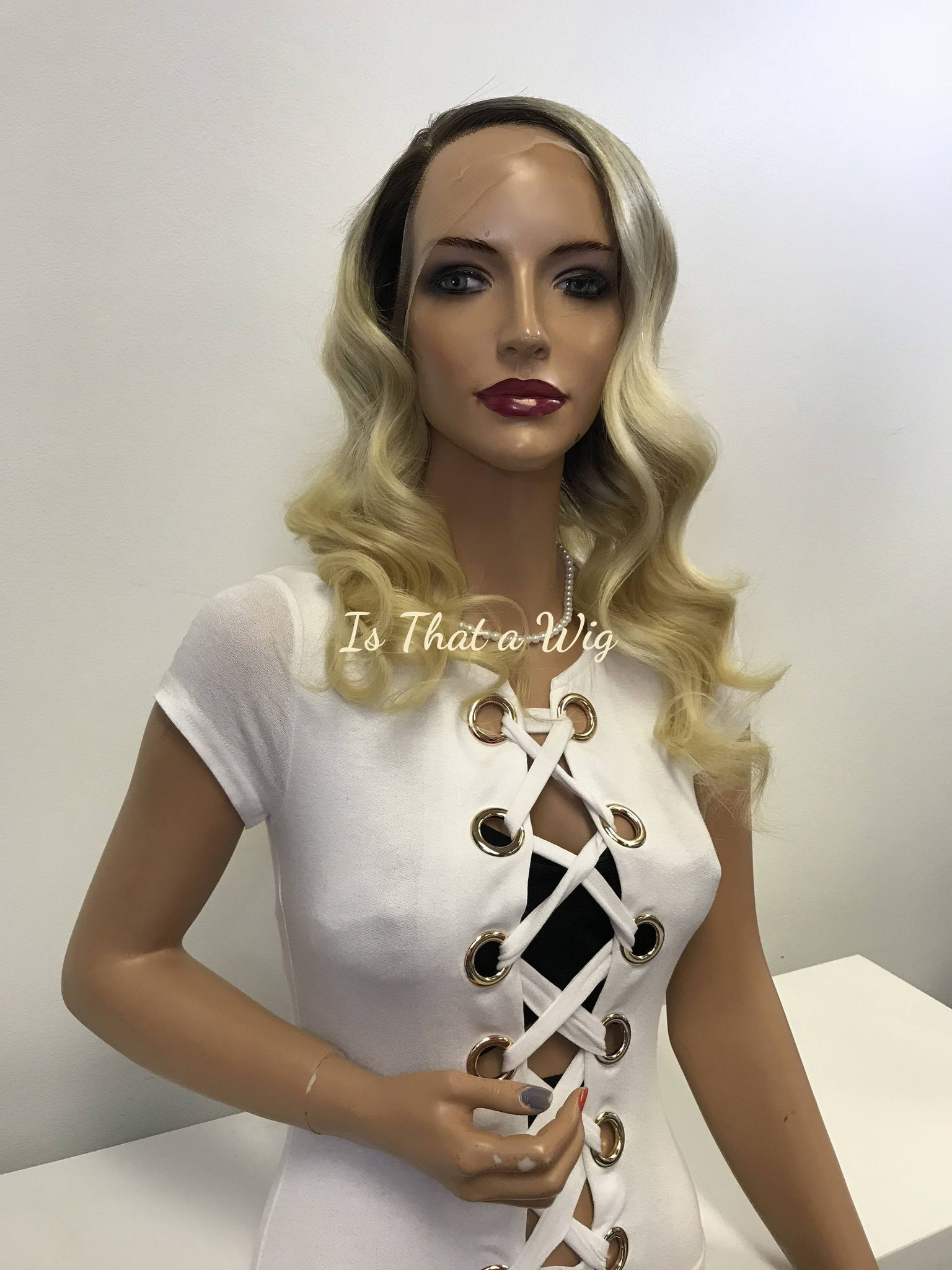 Blond Waves Full Lace Wig