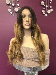 Brown Ombre' Full Lace Wig -Angelica