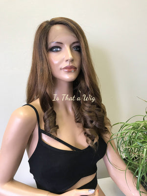 Brown Ombre Lace Front Wig