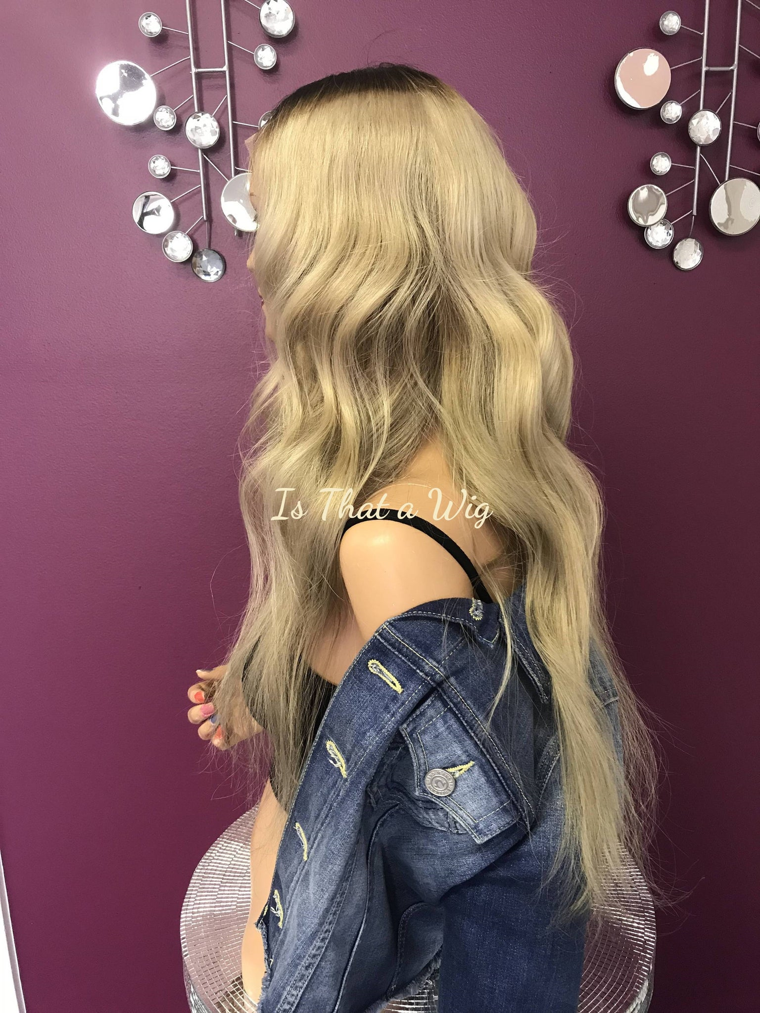 Balayage Blond Full Lace Wig - Saaphire