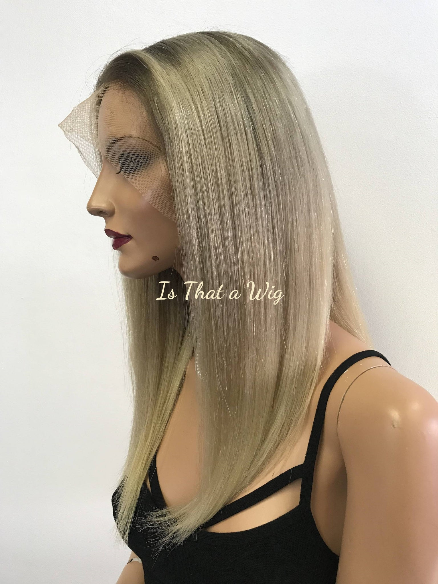 Blond Full Lace Wig - Suede