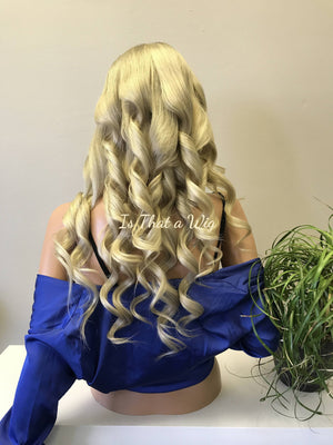 Blond Balayage Full Lace Wig- Joyce