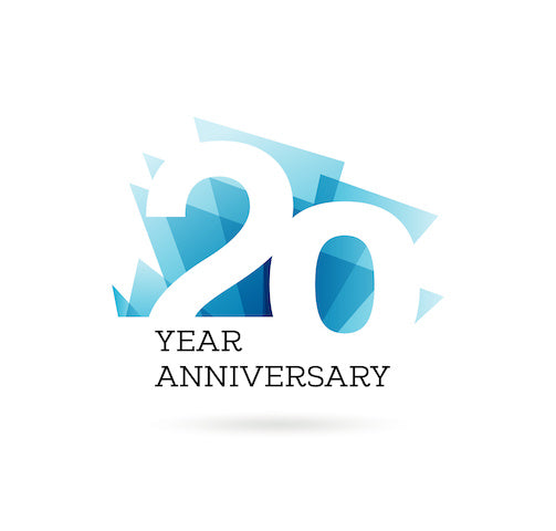 2021 is our 20 Year Anniversary!