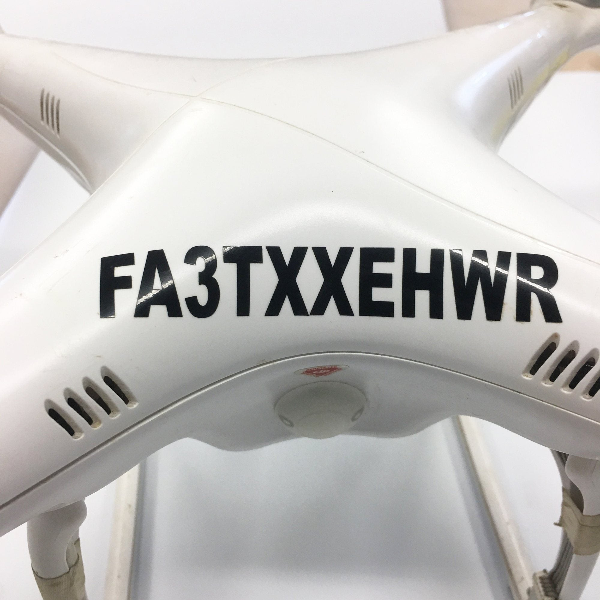 Drone Registration Number Stickers for FAA Compliance