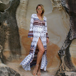 Santa Monica Swim Bohemian Kaftan Coverup in Amber