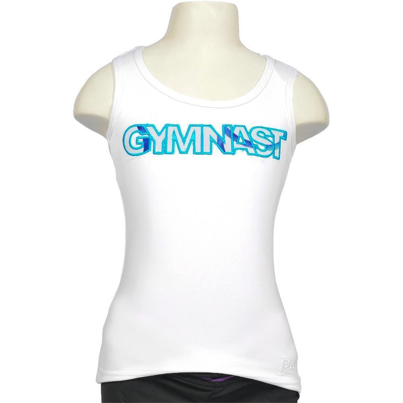 GY MB Singlet Applique Gymnast Child