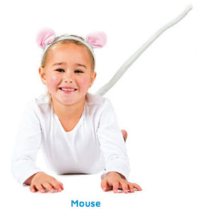 Mouse Head & Tail Set Child
