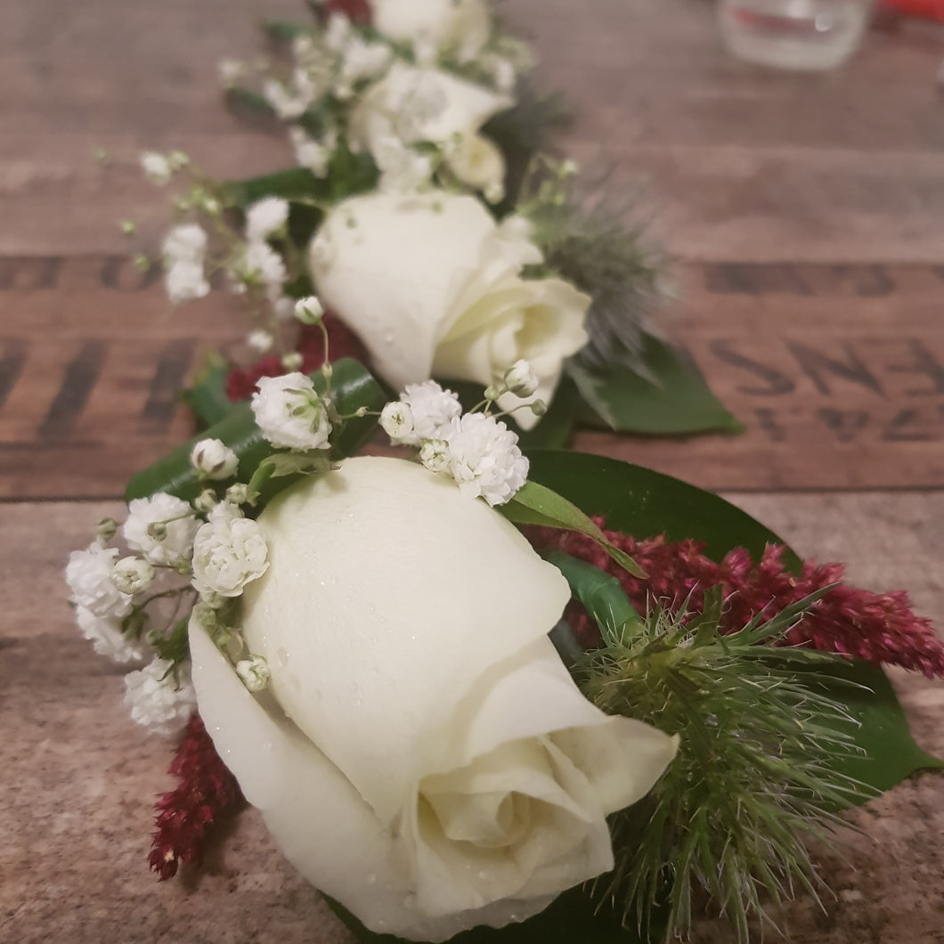 Buttonholes -wedding