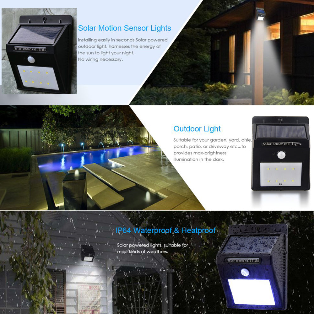 Outdoor Motion Activated Solar Led Lights Click Buy Gadgets Light Circuit Images