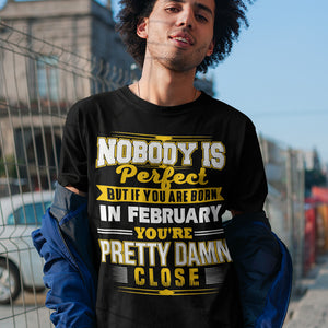 Born in February T-Shirt