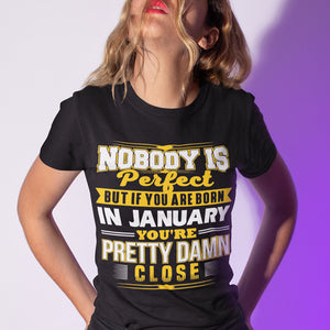 Born in January T-Shirt