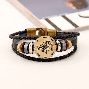 Scorpio Zodiac Sign Bracelet Fashion (Oct 23 – Nov 22)