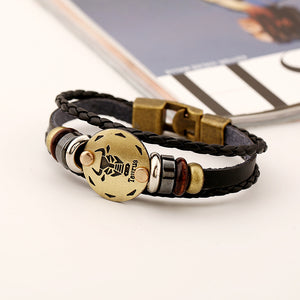 Taurus Zodiac Sign Bracelet Fashion (Apr 20 – May 21)